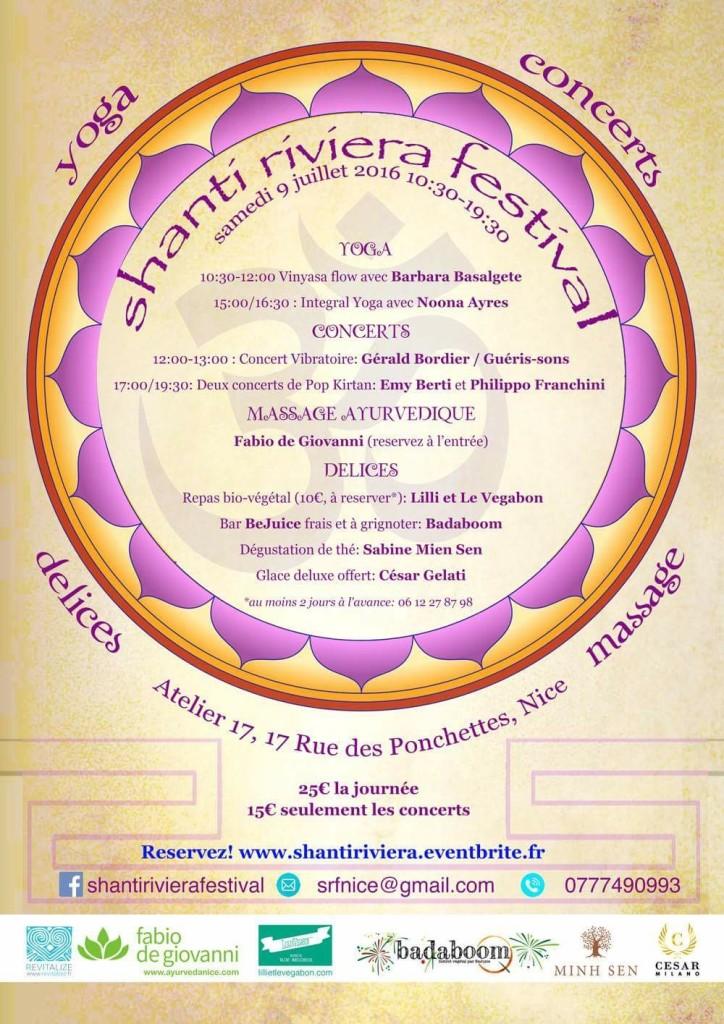 Shanti Riviera Festival Revitalize Yoga & Reiki
