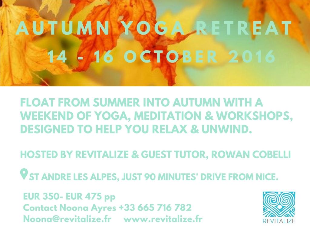 Revitalize Retreat