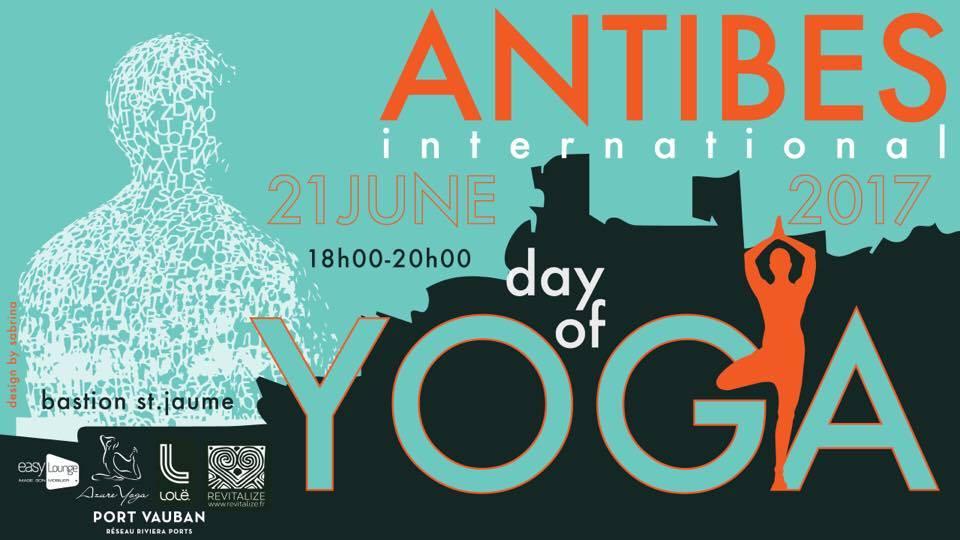 Antibes International Day of Yoga